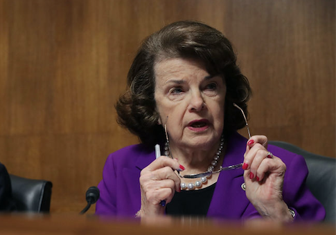 photo image Feinstein: Trump's Nominee for CIA Director Was a 'Good Deputy Director of the CIA'