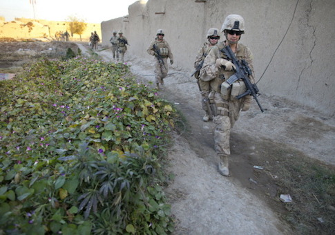 Female Marines Take On Challenges in Afghanistan