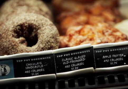 calorie menu