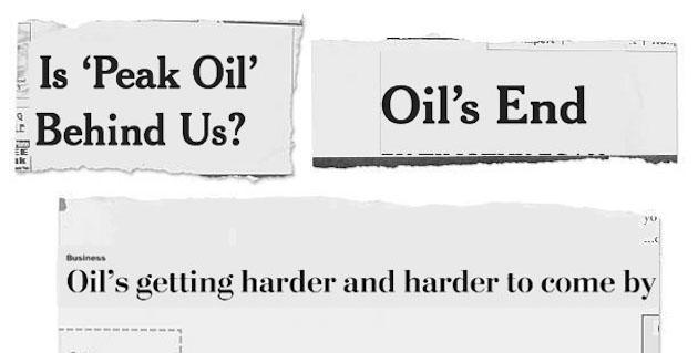 essay on peak oil theory