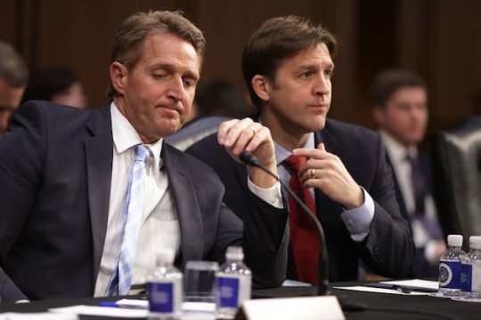 Sens. Jeff Flake and Ben Sasse