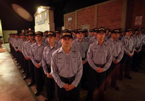 U.S. Navy recruits