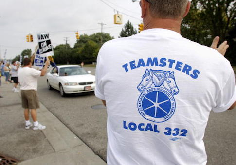 Members of Teamsters Local 332