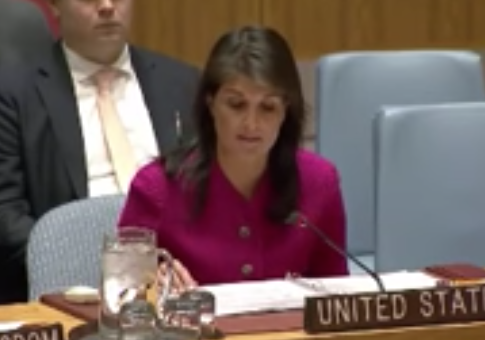 Haley Stands by Allies, Slams Russia Following Release of Report on U.K. Nerve Agent Attack