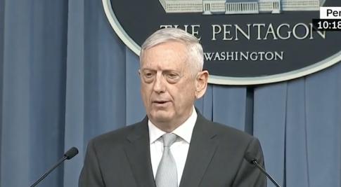 Mattis on Military Action Against Syria: This Was a 'Heavy Strike' - Washington Free Beacon