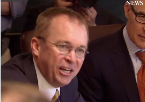 Mulvaney Impresses Trump With Impassioned Speech on the Country's 'Byzantine' Regulatory System