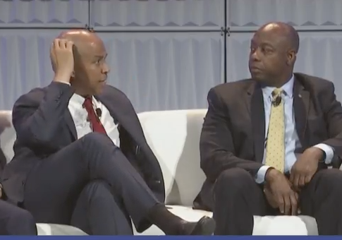 photo image Booker: 'We Need to Stop the Bulls**t Partisanship in This Country'