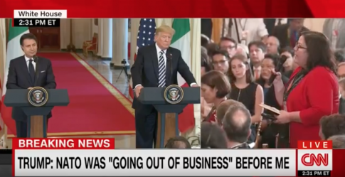 Trump on Possible Iran Meeting: 'No Preconditions; If They Want to Meet, I'll Meet'