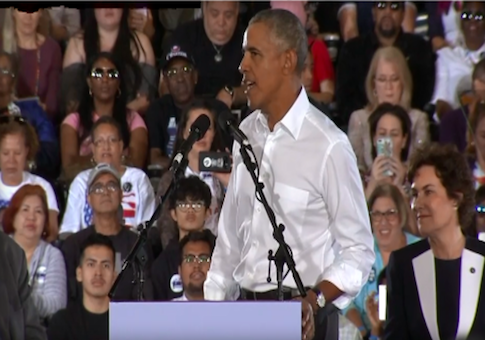 Obama Again Makes Point Economic Boom Began With Him: 'Remember Who Started' Economic Miracles