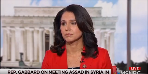 Gabbard: 'Assad is Not the Enemy of the United States'