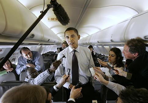 Obama in 2008 / AP