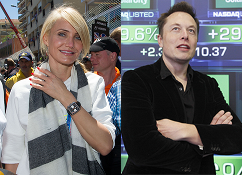 Obama Donors Elon Musk Cameron Diaz Reported To Be Dating