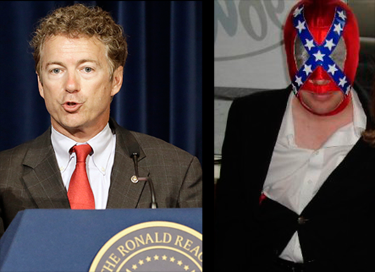 Rand Paul and Jack Hunter