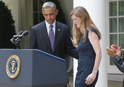 Samantha Power, Barack Obama, U.N. ambassador nominee