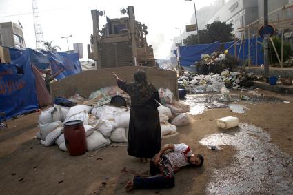 Egypt Morsi crackdown