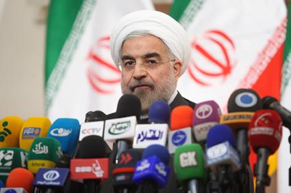 Iran President Hassan Rowhani