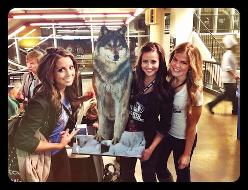 Fox Sports North Girls Helped With T Wolves Promotion