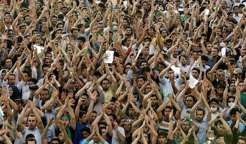 Mideast Iran Dissent in Disarray