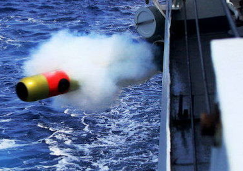 China recently tested a new high speed torpedo