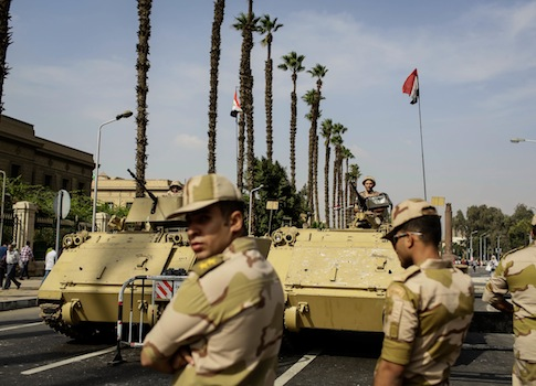 Ramy Jan, a leader of Egypt's Nazi Party, was arrested by Egyptian military forces