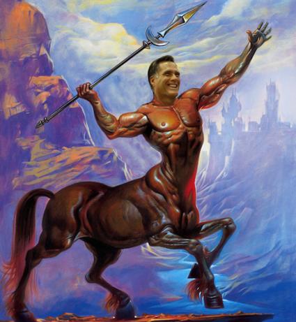 Mitt Romney centaur