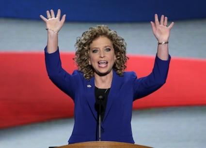 Democratic National Committee Chairwoman Rep. Debbie Wasserman Schultz (Fla.) AIPAC