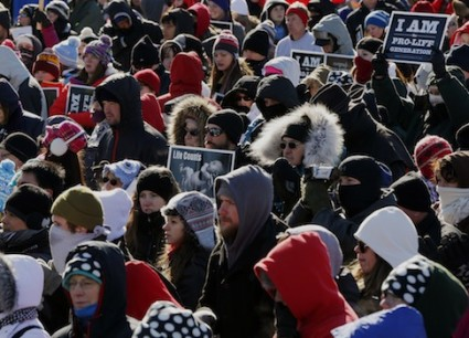 The March for Life 2014 / AP