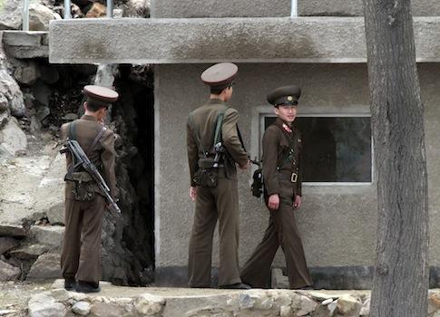 North Korean soldiers / AP