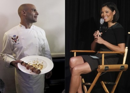 Sam Kass and Alex Wagner / AP