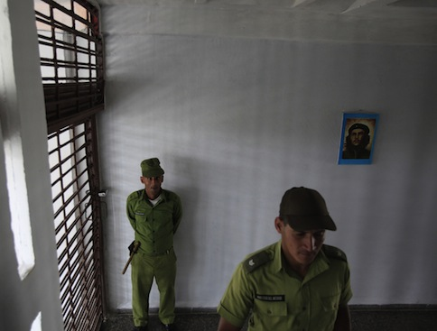 Cuban prison guards