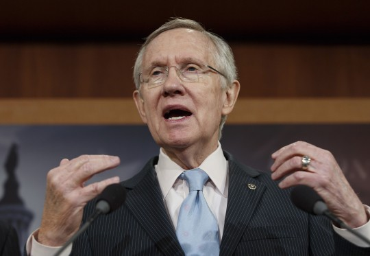 Senate Majority Leader Harry Reid (D., Nev.)