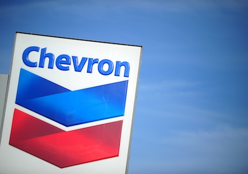 Chevron sign