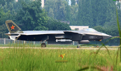Newly unveiled J-20 / Chinese website