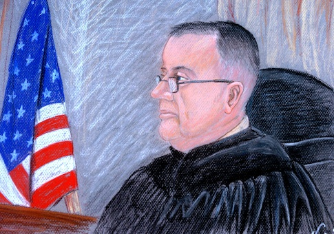 United States Army Chief Circuit Judge Col. James L. Pohl