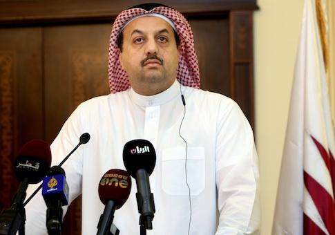 Qatar's Foreign Minister Khaled al-Attiyah
