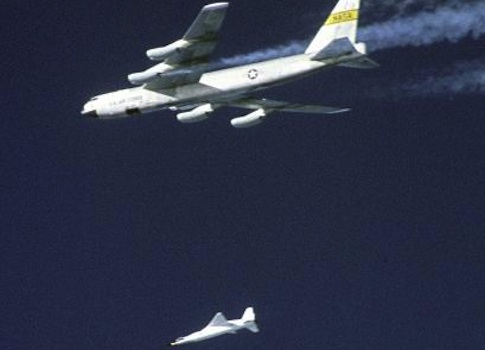 "NASA X-43A ""scramjet"""