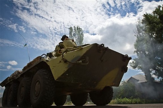 Ukraine: Pro-Russian separatists under siege