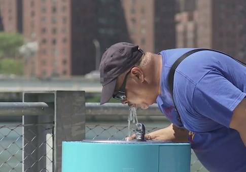 "Screenshot from ""Meet the Drink Up Fountain"""
