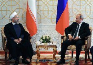 Hassan Rouhani, Vladimir Putin