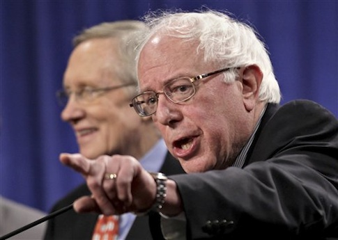 Harry Reid, Bernie Sanders