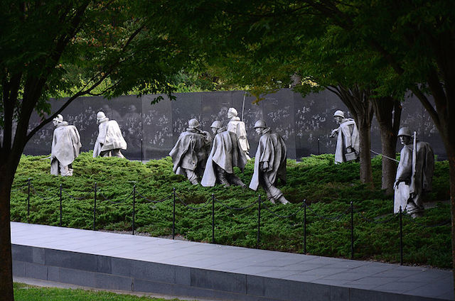 Korean War Memorial, Washington, DC / Wikimedia Commons