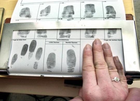 DC Police Fingerprinted Me Yesterday