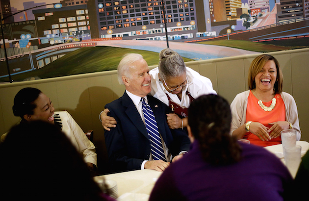 Joe Biden, Marion Mims, Judy Dorsett, Tarri Johnson