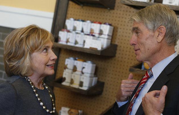 Hillary Clinton, Mark Udall