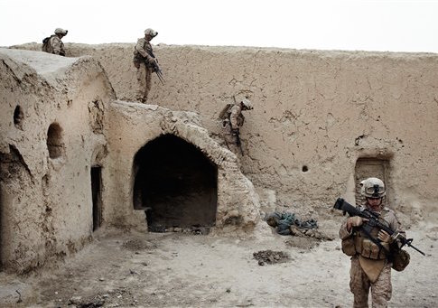 USMC in southern Afghanistan