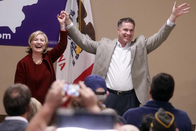 Iowa-Senate-Hillary Clinton