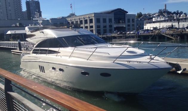 Simons' boat 'Elan' / Lachlan Markay