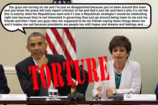 Barack Obama, Valerie Jarrett, Jeff Zients