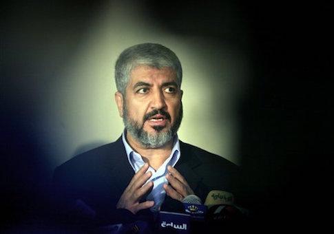 Khaled Meshaal , head of Hamas Politburo in Damascus
