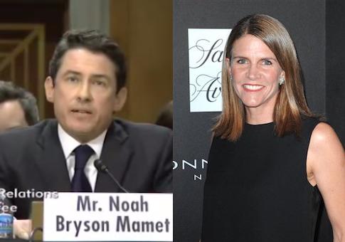 Noah Bryson Mamet and Colleen Bell